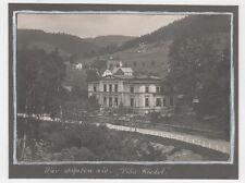 3/137 FOTO ANTONIWALD VILLA RIEDEL UM 1920  SUDETEN TSCHECHIEN OSTGEBIET