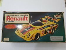 TOYS RENAULT 1981 ELECTRONIC SONIC CONTROLLED ITA