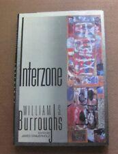 INTERZONE by William S. Burroughs - 1st/1st HCDJ 1989 - fine