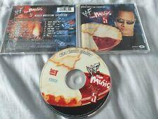 WWE The Music Vol. 5 (CD 2001) 14 song - The Rock, Motorhead, Billy Gunn, Chyna
