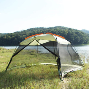 Outdoor Instant Canopy Screen House 13x9 Ft Easy Installation Insect Proof Tent