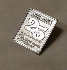 Metro North Railroad 1983-2008 25th anniversary pin