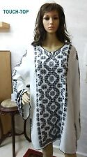 Royal Lady Hand Black Embroidered Detailing Blouse Long Sleeve palestine size XL