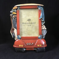Hobby Lobby 3D Resin Golf Cart Photo Frame 4x6 Portrait