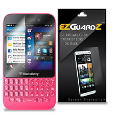 4X EZguardz LCD Screen Protector Skin Cover HD 4X For Blackberry Q5 (Clear)