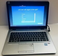 "HP EliteBook 840 G3 14"" Core i5-6300U 2.40GHz 8GB RAM 320GB HDD Windows 10 Pro"