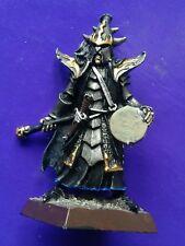 1x Guardia de naggaroth Elfo Oscuro Negro Metal Elfos citadel GW músico comando # B