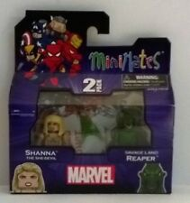 Marvel Minimates Shanna She-Devil & Savage Land Reaper Series 51 Figures New