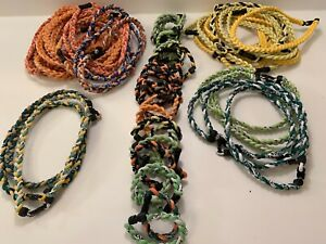 Wholesale Lot of Titanium Sport Necklaces and Bracelets