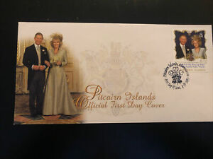 Pitcairn Islands 2005, FDC, Royal Wedding, Excellent Condition