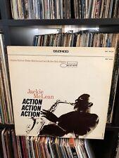 JACKIE MCLEAN Lp Action -Liberty Blue Note Hutcherson Cecil McGee Higgins Jazz