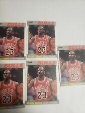 Michael  Jordan 1987 Fleer Reprint  Lot Of 5 Perfect Mint