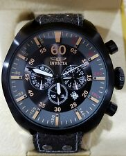 Invicta Aviator INVICTA-19671 Stainless & Plated Metal Black Watch 50mm