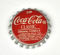 LTP COCA-COLA COKE Clásico Tapa de botella EE.UU. tapas de botellas Roja