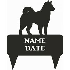 Alaskan Malamute Rectangular Memorial Plaque