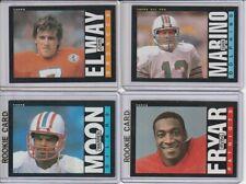 1985 Topps Football Complete Set 1-396 Moon & Fryar Rookies Nr. Mint/Mint