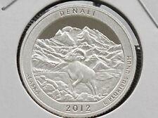 2012-S Denali Alaska Washington Quarter 90% Silver Proof U. S. Coin D3134