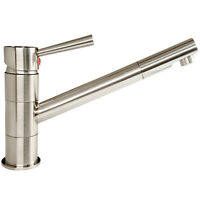 Küchenarmatur Wasserhahn für Küche Spültisch Armatur Edelstahl Spültischbatterie