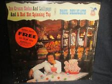 """Paul Delicato""""Ice Cream Sodas and Lollipops and a Red Hot Spinning Top""""SEALED LP"""