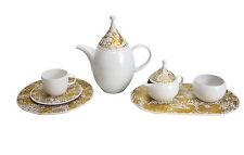 16pc Rosenthal Studio Line GIlt Magic Flute Tea Service for 6 by Bjorn Wiinblad