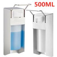 500 ml, Seifenspender Wandmontage, Desinfektionsmittelspender, Bügel-Mechanik