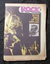 1972 Feb 28 Rock Music Culture Newspaper Vg Jefferson Airplane Starship