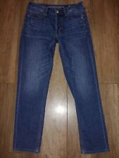 American Eagle Jeans size 6 TOMGIRL stretch button fly Excellent worn once