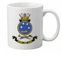 HMAS ADROIT ROYAL AUSTRALIAN NAVY COFFEE MUG (IMAGE BLURED TO STOP WEB THEFT)
