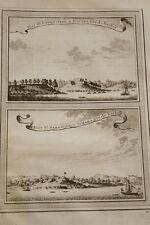 GRAVURE AFRIQUE FORT BADENSTEIN BOUTRI SAINT SEBASTIEN SCHAMA 1747
