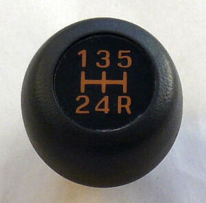 Shift Knob 12mm | Suzuki Samurai 1986-1988 | Black | New Genuine OEM