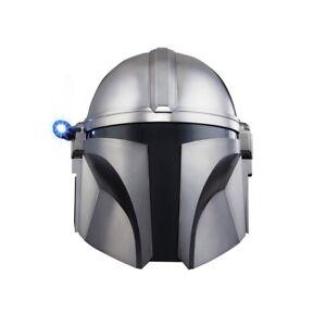 IN HAND! Star Wars The Mandalorian Helmet Premium Electronic Black Series NEW