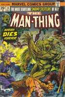 Man-Thing (1974 series) #10 in Fine condition. Marvel comics [*3q]