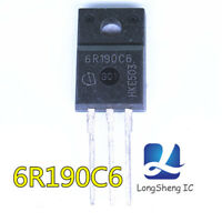 5PCS 6R190C6 IPA60R190C6 MOS new TO220F new