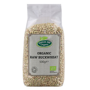Organic Raw Buckwheat Groats 500g Certified Organic
