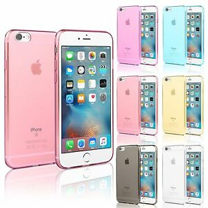 TPU Gel Silicone Soft Matte Jelly Grip Case Back Skin Cover For Apple Models