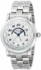Mont Blanc Montblanc Watch Star World Time White Dial Automatic 106465 Mens P