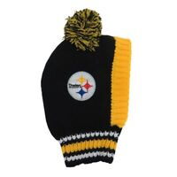 Pittsburgh Steelers Little Earth Production NFL Dog Pet Knit Team Winter Hat