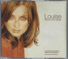 LOUISE - ONE KISS FROM HEAVEN 1996 UK 3 TRACK CD2 SINGLE CDEM454 REDNAPP ETERNAL
