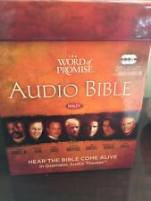 WORD OF PROMISE-Dramatical Reading of the Bible(79 CDs)NKJV w/BONUS-DVD VERY GD!