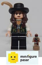 poc006 Lego Pirates Of The Caribbean 4195 - Angelica Minifigure w Trophy - New