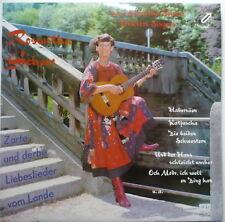 ROSWITHA SCHEER - Zarte und derbe Liebeslieder vom Lande - LP
