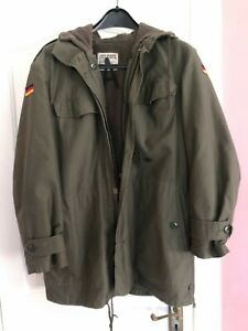 Thick, fleece lined army jacket by Feuchter Waldkirchen military clothing