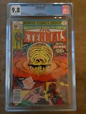 Eternals 12 CGC 9.8 -  Undervalued comic - See Ad