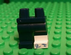 Lego Minifigure Legs, Dark Blue With Cast (From Series 15 Clumsy Guy)