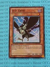 D.D. Crow RYMP-EN095 Super Rare Yu-Gi-Oh Card 1st Edition New