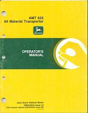 John Deere Amt 622 All Material Transporter Utility Vehicle Operators Manual