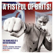 A Fistful Of Brits! - The Rumblings Of A British Invasion (2CD 2016) NEW/SEALED