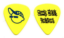 Cheap Trick Rick Nielsen Rockford Yellow Guitar Pick - 2006 Rockford Tour