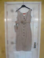 VIVENNE WESTWOOD Étiquette Rouge Kaki Robe 98% coton 2% Spandex Sexy BNWT UK 10