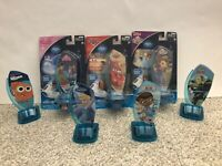 Lot Of 7 Storytime Theater Press N' Play Character Frozen Cinderella Nemo Cars